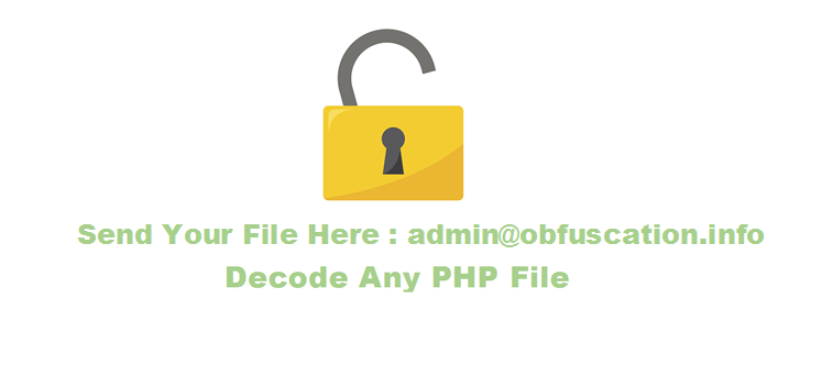 decode any php ioncube obfuscation file